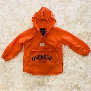 NWOT! OSHKOSH Kids Windbreaker Jacket. Size 4/5